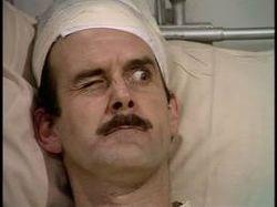 Basil in hospital