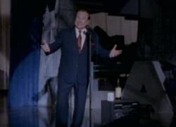 Artie on stage