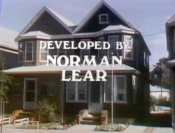 Archie Bunker's house credits shot